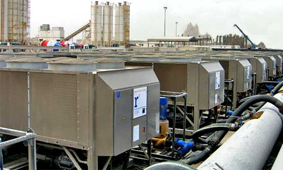 Temporary Chiller Rental for District Cooling Plant